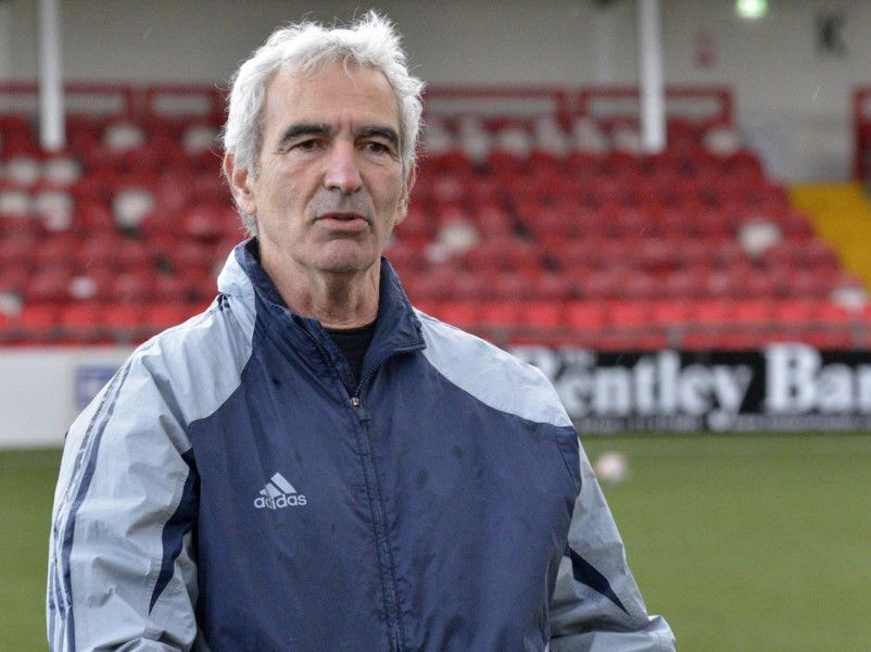 Video Watch As Ex France Boss Raymond Domenech Takes Derry City Training Session Derry Journal