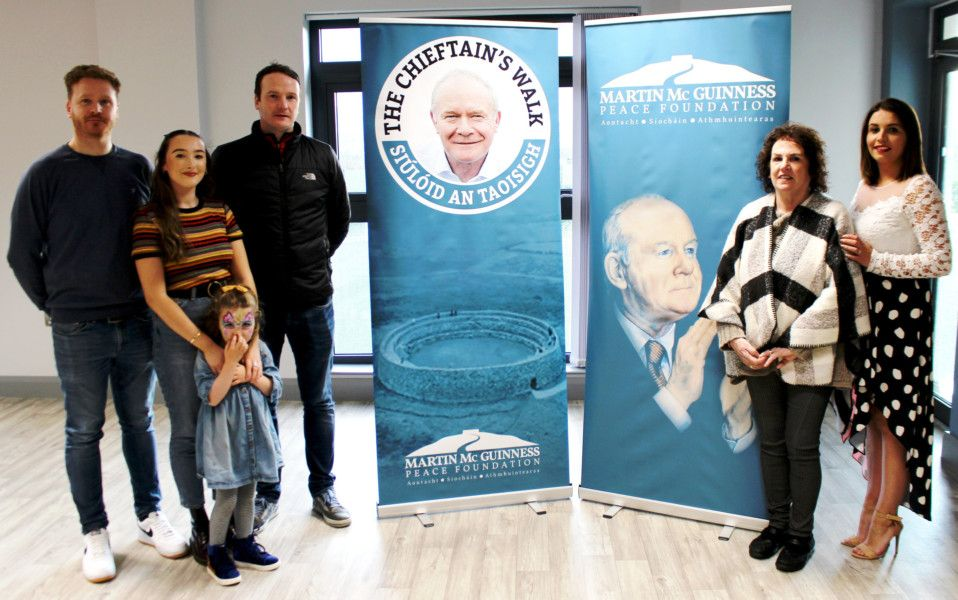 Peace Charity In Memory Of Martin Mcguinness Derry Journal As mcguinness, haworth first gained notoriety working for ring of honor (roh). peace charity in memory of martin