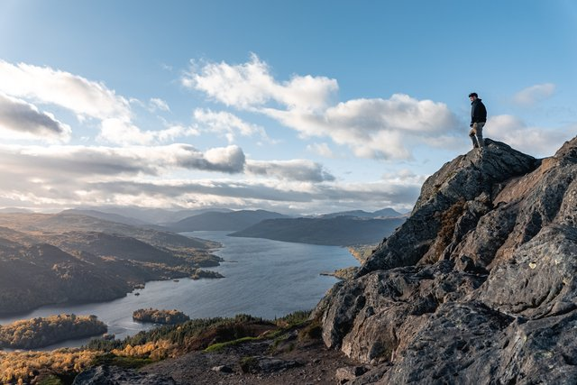 Photographer Craig Sinclair's shot of Ben A'an in the Trossachs, looking down on Loch Katrine