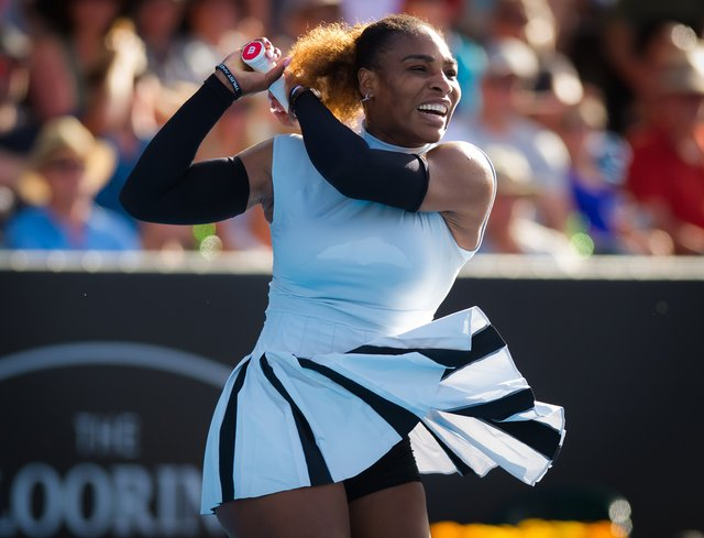 <p>Serena William's tennis fashion is always on point</p>