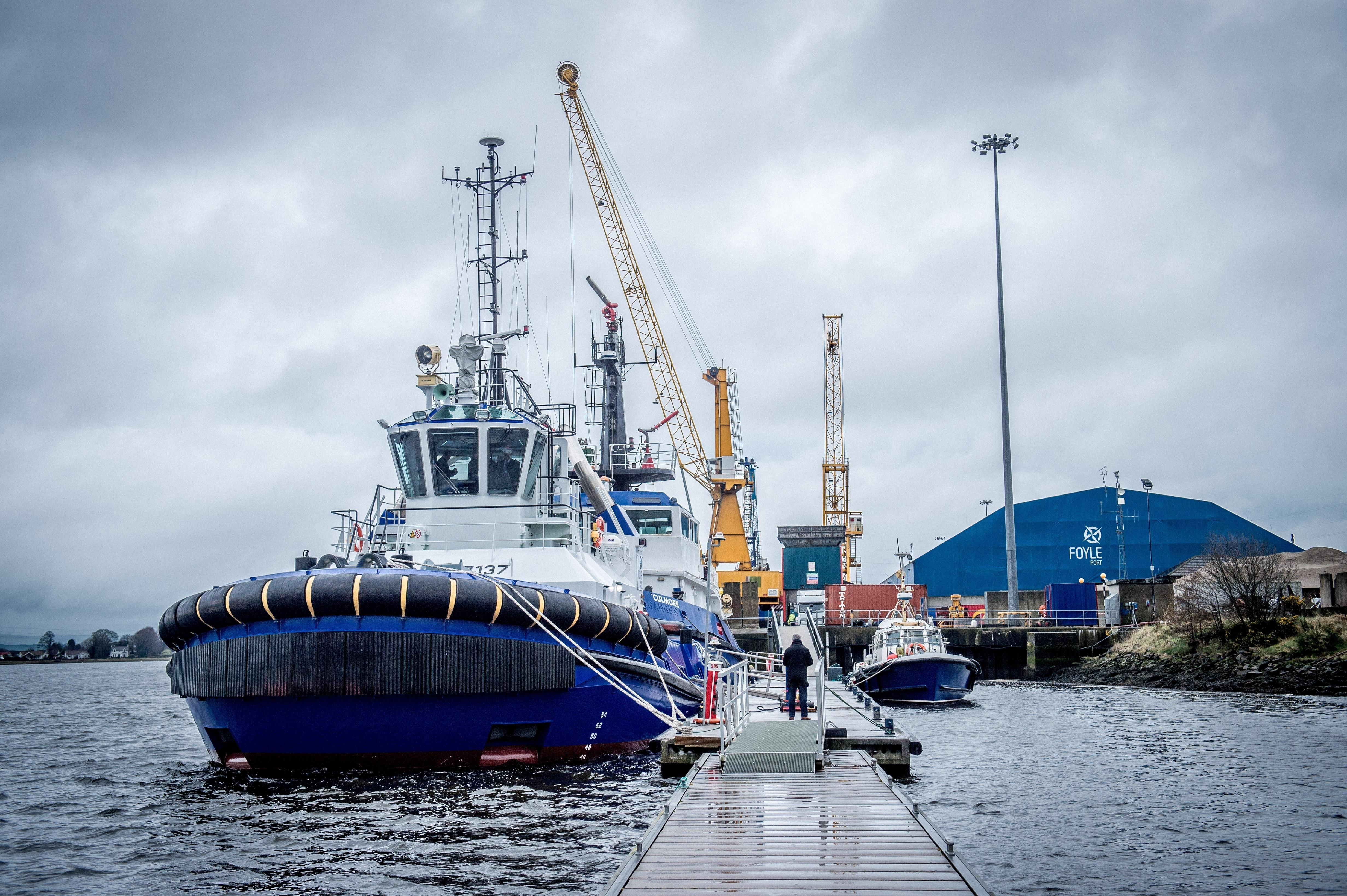 No deal Brexit could pose an 'existential threat' to Foyle Port with 'tumbleweed' rather than traffic jams of 'grave concern,' says Brian McGrath