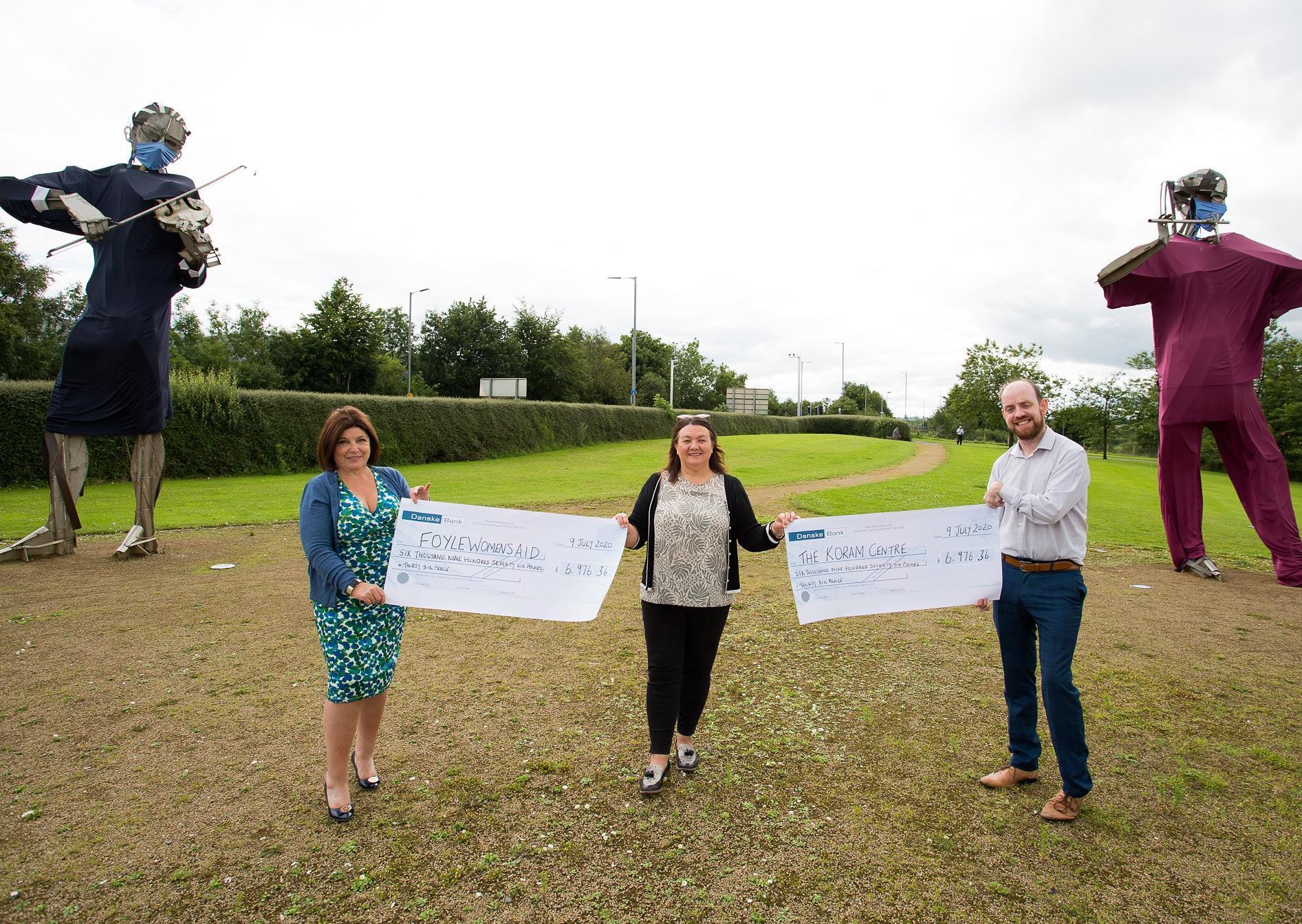 Former Mayor of Derry & Strabane Michaela Boyle raises almost £14,000 for local charities