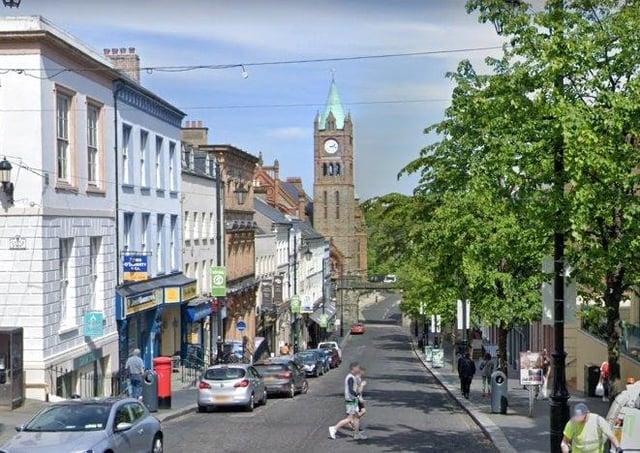 Shipquay Street, Derrry. (Photo: Google Street View)
