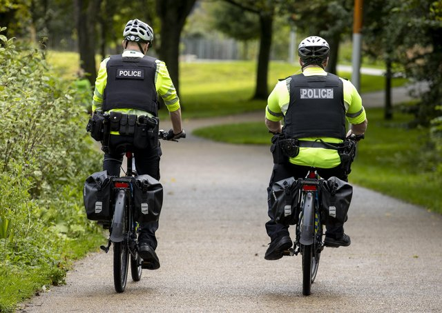 There are currently 446 PSNI officers/members of staff off because of Covid-19.