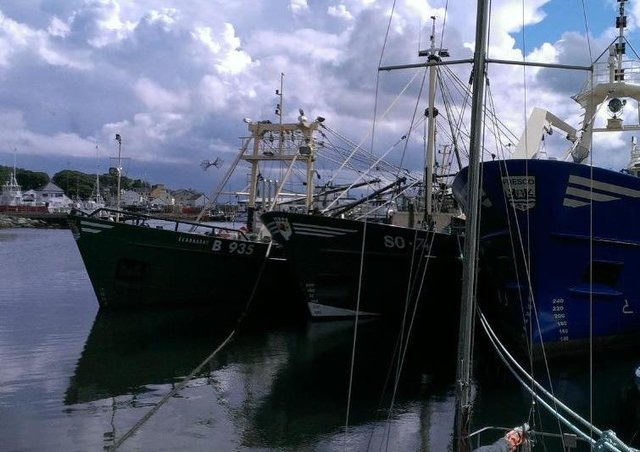 Greencastle harbour