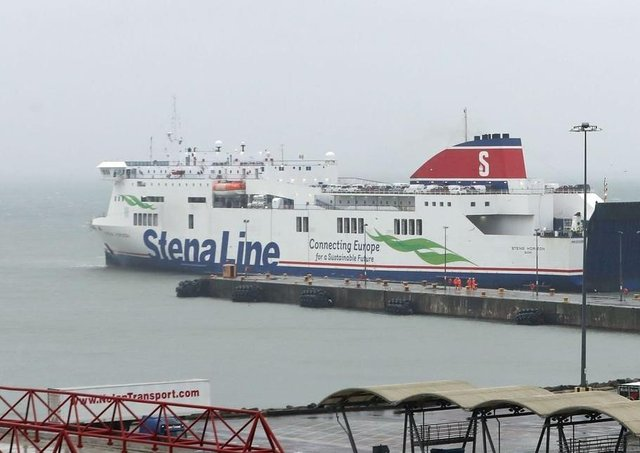 The MS Stena Horizon normally operates out of Rosslare but has been moved to the Belfast-Liverpool route