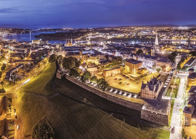Derry businesses are 'financially, emotionally and physically exhausted' after 12 months of Covid lockdown.