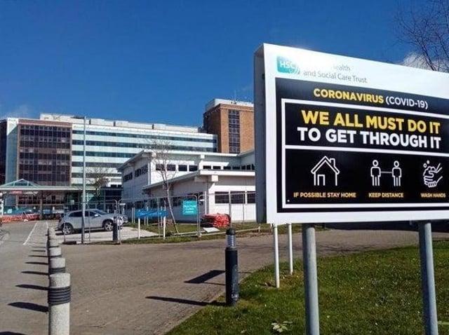 Rev David Latimer has praised staff at Derry's Altnagelvin Hospital.