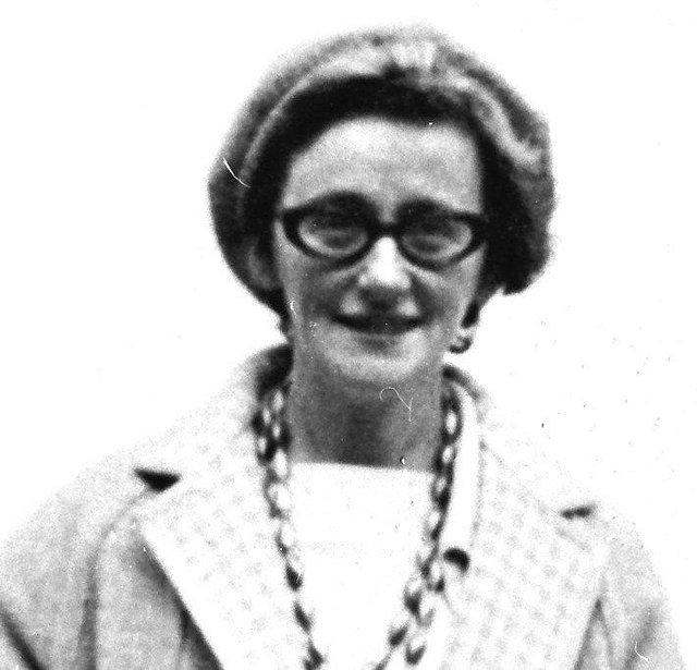 The late Kathleen Thompson.