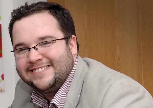 Councillor Emmet Doyle. (DER0514PG065)