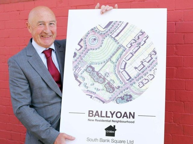 Seamus Gillen, of South Bank Square Ltd the developer behind the project.