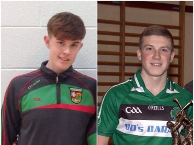 Oran Boyd and Aodhán O'Donnell.