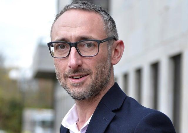 SDLP Councillor Rory Farrell. DER1319GS-031