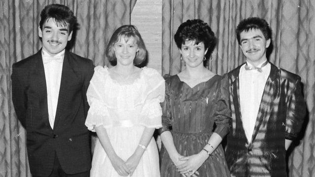 From left are John Moran, Laura Murphy, Anne Sweeney and Damien Mullan.