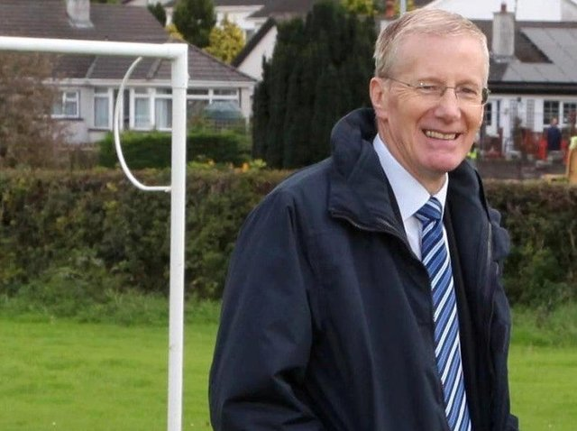 Football fan Gregory Campbell.
