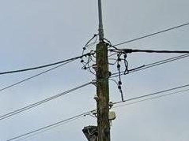 Power cut in Derry.