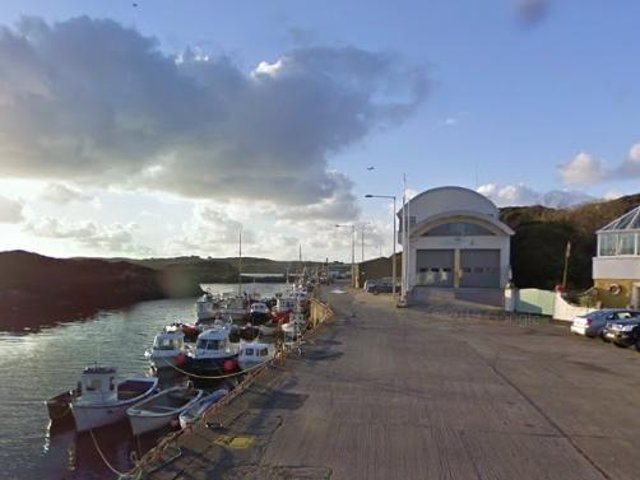 Bunbeg Pier, Co. Donegal. (Photo: Google Street View)