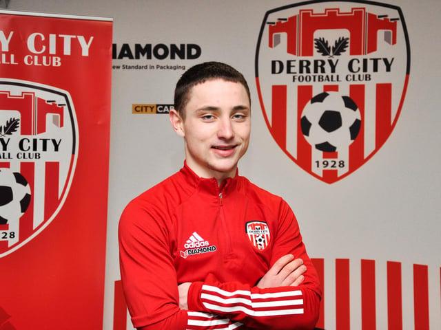 Derry City's Joe Hodge.