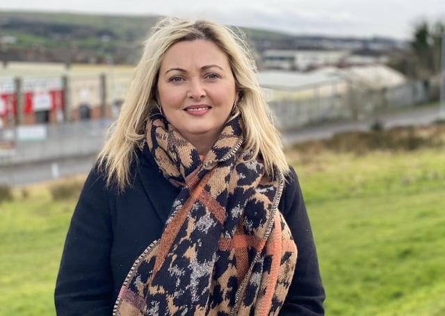 Foyle Sinn Fein MLA Karen Mullan.