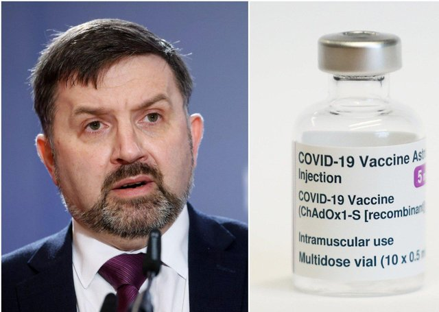 Health Minister Robin Swann said health hubs like Foyle Arena in Derry will switch to AstraZeneca for people who will be getting their first vaccines there.