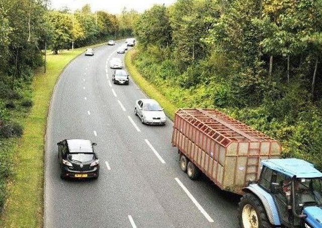 A5 road project delayed again.
