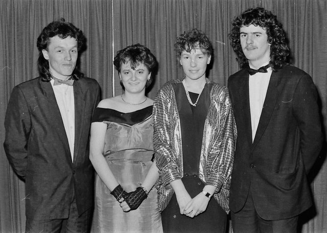 From left are Pearse Deery, Arlene Dunlop, Laura Nash and John Shiels.