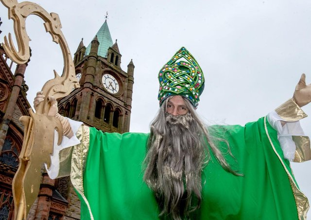 Celebrate St. Patrick's Day safely in Derry says Mayor Tierney.