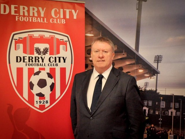 Derry City chairman, Mr Philip O'Doherty.