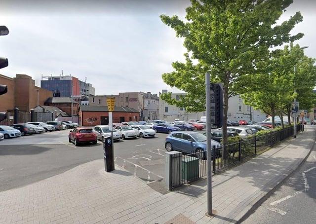 Victoria Market in Derry (File picture - Google Earth)