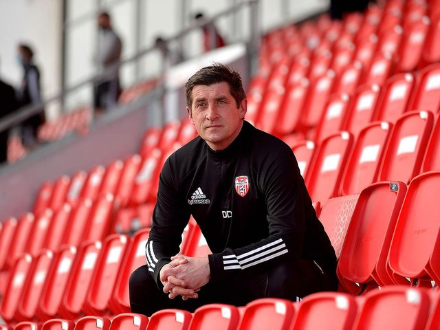 Declan Devine isn't afraid of the pitfalls which come with the Derry City job but he's confident club is going in the right direction.