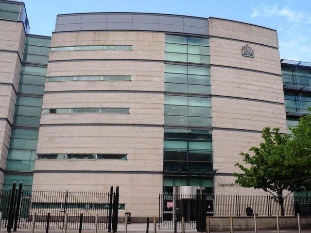 Laganside court complex.