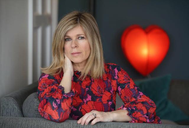 Kate Garraway in her London home