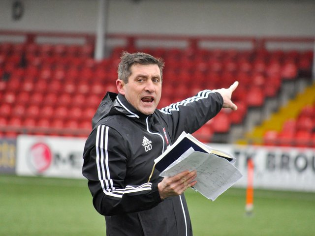 It was straight back to the training ground for Declan Devine and his team as they reflect on what went wrong in Longford.
