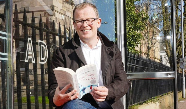 Brian McGilloway helps launch the new virtual book club, 'Novel Journeys'.