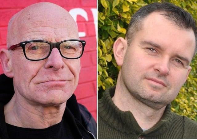 Stepping down - Eamonn McCann and Mickey Cooper.