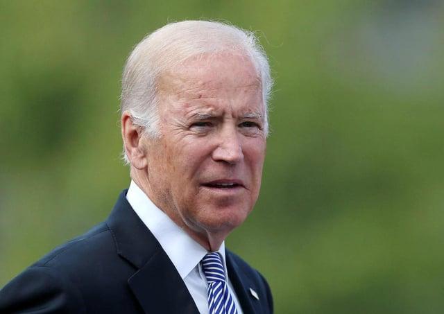 President of the United States, President Joe Biden.