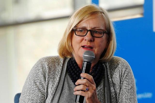 Nancy Soderberg.