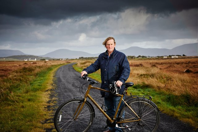 The first episode of Iarnród Enda will air on Easter Monday on RTÉ One. (Photo: Mike Mulcaaire)