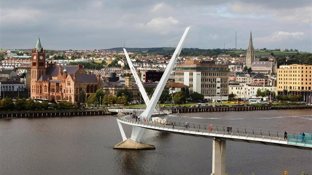 Most of 500 new jobs are to be split between Derry and Belfast.