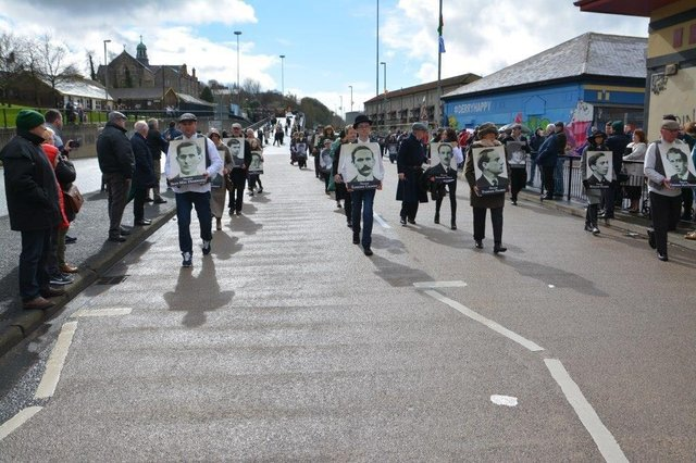 The annual Easter commemoration will be online this year.