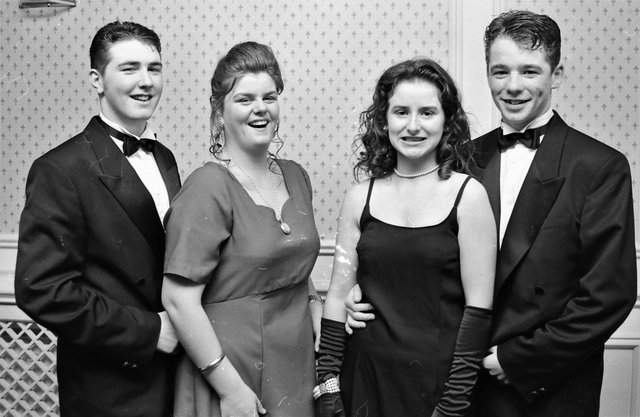 From left are George Dunlop, Tammy Concannon, Helena McCauley and Eugene Sheerin.