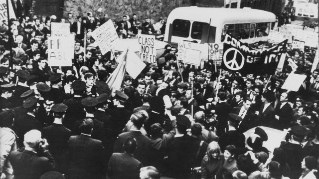 Roddy Carlin would have participated in some of the early civil rights protests in Derry.