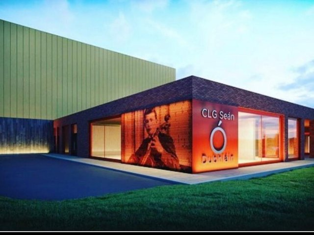 An artists impression of how Sean Dolan's new clubhouse will look after the £2MILLION development.