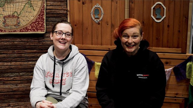 Makeyuppers, is run by Gemma Walker-Farren and Sorcha Shanahan in Derry