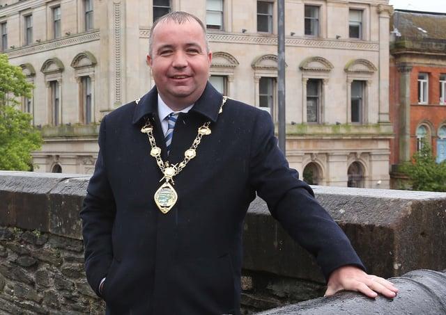 Mayor Colr. Brian Tierney
