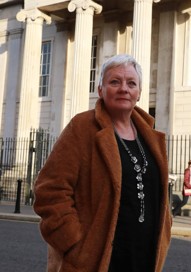 Rosaline Callaghan is able to access the drug in Derry, but not in Donegal.