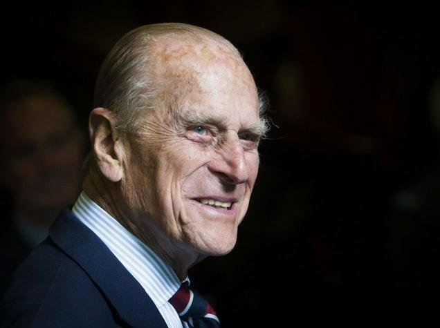 The Duke of Edinburgh, Prince Philip who died this morning.