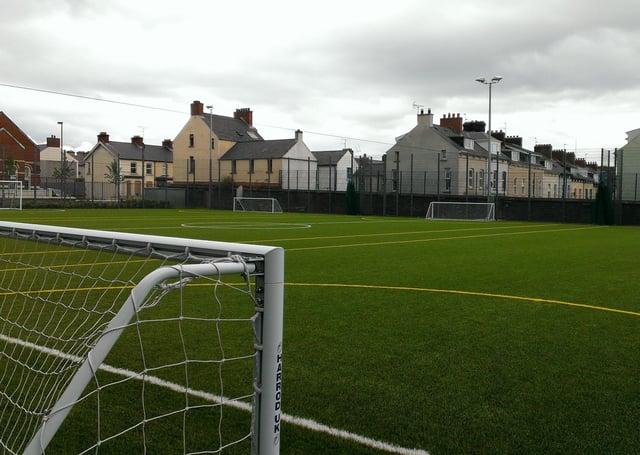 3G pitches at Brooke Park.