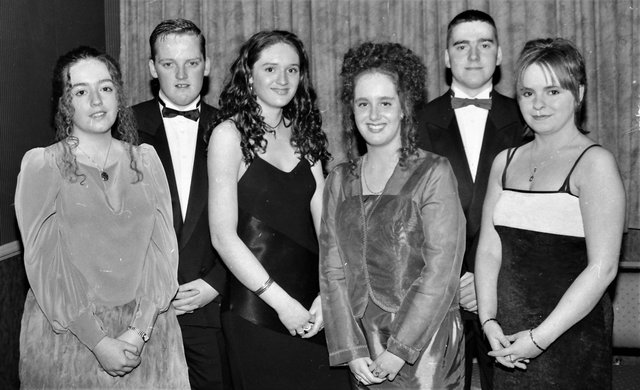From left are Shauna McDaid, Michael Clifford, Aisling McGuinness, Shauna Williamson, Kevin Coyle and Ella Hegarty.