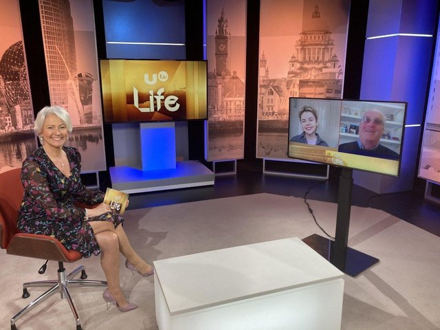 Children in Crossfire founder Richard Moore and Saoirse Monica Jackson were interviewed for UTV Life by Pamela Ballantine.